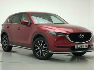 2017 Mazda CX 5 2.0 Sport Nav 5dr Petrol red Manual