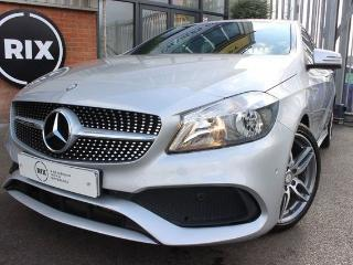 Mercedes Benz A Class 1.5 A 180 D AMG LINE EXECUTIVE 5d 1 OWNER CAR 20 ROAD TAX HALF LEATHER BLUETOOTH 18 ALLOYS PARKING Hatchback 2017, 29000 miles, £15250