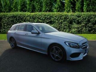 2017 Mercedes Benz C Class 220 AMG Line 2.1 Turbo 170ps Automatic Estate with