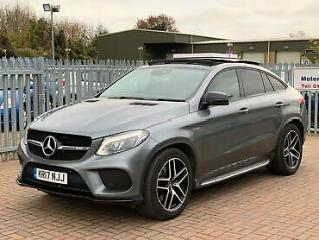 2017 Mercedes Benz GLE Class 3.0 GLE43 V6 AMG Premium G Tronic 4MATIC s/s