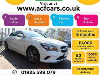 Mercedes Benz CL Class CL CLA 180 SPORT CAR FINANCE FR £71 PW Saloon 2017, 25000 miles, £15990