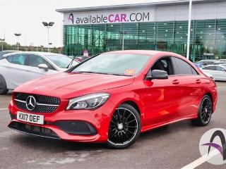 Mercedes Benz CL Class CLA A 200d 2.1 AMG Line 4dr Night Pack Saloon 2017, 18326 miles, £19499