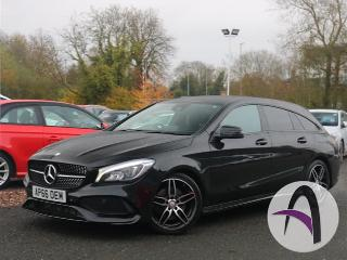 Mercedes Benz CL Class CLA A Shooting Brake 220d 2.1 AMG Line Estate 2017, 26663 miles, £18799