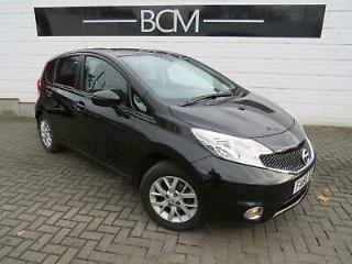 2017 Nissan Note 1.2 Acenta Premium 5dr Petrol black Manual