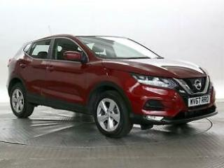 2017 Nissan Qashqai 1.2 DiG T Acenta Xtronic Auto Hatchback Petrol Automatic