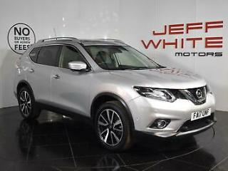 2017 Nissan X Trail 1.6 dCi Tekna 5dr 7 Seater Diesel silver Manual
