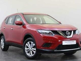 2017 NISSAN X Trail, Red