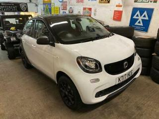 2017 Smart forfour 1.0 Passion Hatchback 5dr Petrol s/s 71 ps