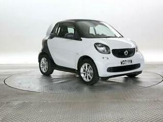 2017 smart fortwo 1.0 Passion Auto Coupe Petrol Automatic