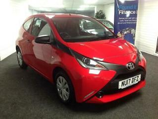 2017 Toyota AYGO 1.0 VVT i X 3dr LOW MILEAGE HATCHBACK Petrol Manual