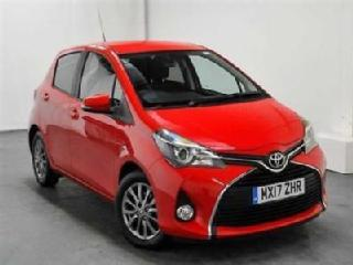 2017 Toyota Yaris 1.33 Icon Petrol red Automatic
