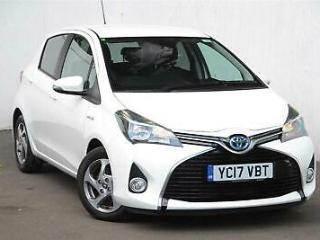 2017 Toyota Yaris 1.5 Icon Petrol/Electric Hybrid white Automatic