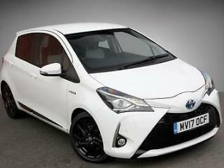 2017 Toyota Yaris 1.5 VVT i Design PETROL/ELECTRIC white CVT