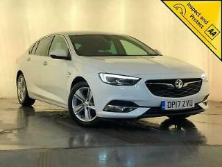 2017 VAUXHALL INSIGNIA ELITE SAT NAV LEATHER INTERIOR CRUISE CONTROL SVC HISTORY