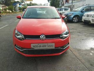 Red 2017 Volkswagen Polo Highline1.2L P 19,000 kms driven in Andheri East