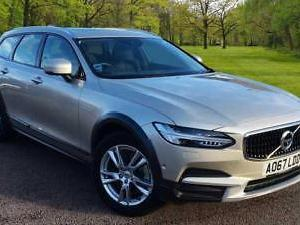 2017 Volvo V90 CC D4 AWD Cross Country Automatic Panoramic Tilt Sunroof, Park As