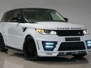 2017 Yulong Grey Land Rover Range Rover Sport 3.0SD V6 AUTOBIOGRAPHY LOOKS 2018