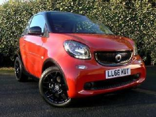 2017my FORTWO PRIME PREMIUM SPORT TURBO AUTO *1 FEMALE OWNER & HISTORY