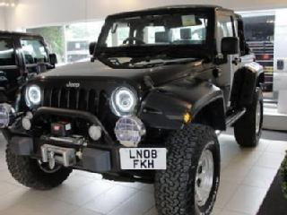 2018 08 JEEP WRANGLER 3.8 V6 PETROL AUTOMATIC SOFT TOP. LIFTED WITH UPGRADED ARC