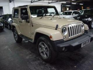 2018 18 JEEP WRANGLER 2.8 CRD OVERLAND 2D 197 BHP ATUO 4X4 DIESEL