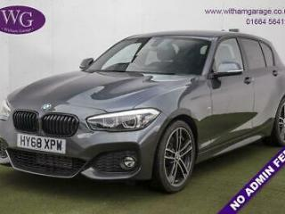 2018 68 BMW 1 SERIES 2.0 118D M SPORT SHADOW EDITION 5D AUTO 147 BHP DIESEL