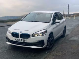 2018 68 BMW 218i 1.5 SPORT ACTIVE TOURER PETROL AUTOMATIC AUTO SAT NAV CAMERA