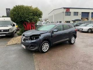 2018 68 Renault Kadjar Dynamique Nav Tce Hatchback 1.3 Manual Petrol SALVAGE