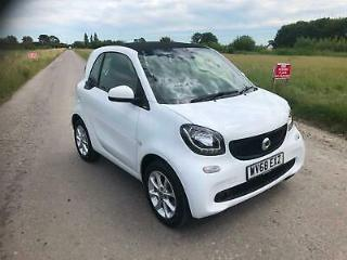 2018 68 Smart fortwo 1.0 71bhp s/s 2018MY Passion Only 6800 Miles