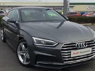2018 Audi A5 Coup S line 2.0 TDI 190 PS S tronic Diesel grey Automatic
