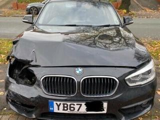 2018 BMW 1 SERIES SE BUSINESS EDITION SALVAGE