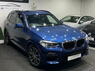 2018 BMW X3 2.0 20d M Sport SUV 5dr Diesel Auto xDrive DAMAGED REPAIRED