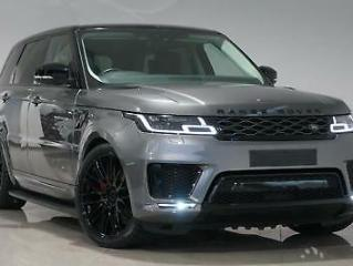 2018 Grey Land Rover Range Rover Sport 3.0 SD V6 Comman HSE AUTOBIOGRAPHY LOOK