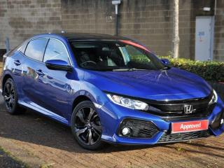 Honda Civic 1.0 VTEC TURBO EX 5 Door Hatchback 2018, 17344 miles, £16495
