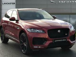 2018 Jaguar F pace S AWD Diesel red Automatic