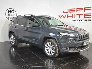 2018 Jeep Cherokee 2.2 Multijet 200 Limited 5dr Automatic Diesel grey Automatic