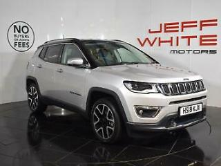 2018 Jeep Compass 1.4 Multiair 140 Limited 5dr [2WD] Petrol silver Manual