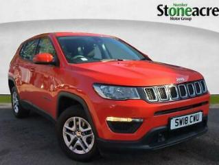 2018 Jeep Compass 1.6 MultiJetII Sport SUV 5dr Diesel s/s 120 ps