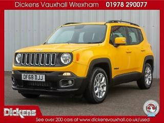 2018 Jeep Renegade LONGITUDE Petrol yellow Manual