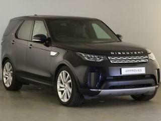 2018 Land Rover Discovery SDV6 HSE LUXURY Diesel black Automatic