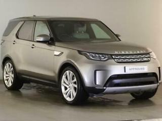 2018 Land Rover Discovery SDV6 HSE LUXURY Diesel silver Automatic