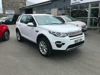 2018 Land Rover Discovery Sport 2.0 Td4 4X4 HSE. 7 Seats