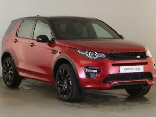 2018 Land Rover Discovery Sport SI4 HSE LUXURY Petrol red Automatic
