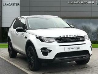2018 Land Rover Discovery Sport TD4 HSE BLACK Diesel white Automatic