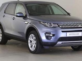 2018 Land Rover Discovery Sport TD4 HSE Diesel blue Automatic