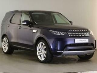 2018 Land Rover Discovery TD6 HSE LUXURY Diesel blue Automatic