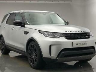 2018 Land Rover Discovery TD6 HSE LUXURY Diesel silver Automatic