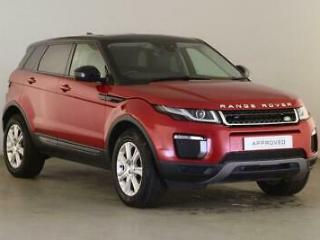 2018 Land Rover Range Rover Evoque 2.0 TD4 180hp SE Tech Diesel red Automatic