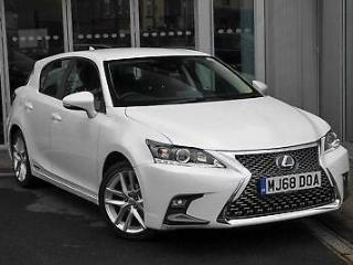 2018 Lexus CT 1.8 PETROL/ELECTRIC white CVT