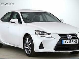 2018 Lexus IS 2.5 Advance P Nav PETROL/ELECTRIC white CVT