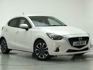 2018 Mazda 2 1.5 Tech Edition 5dr Petrol white Manual